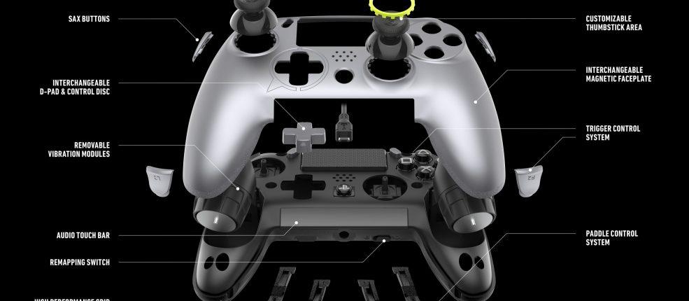Este es el nuevo mando de Play Station 4